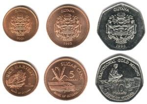 guyana coins