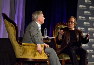 Something from Nothing? A Conversation with Richard Dawkins and Lawrence Krauss Critically-acclaimed author and evolutionary biologist Richard Dawkins and world-renowned theoretical physicist and author Lawrence Krauss discussed biology, cosmology, religion, and a host of other topics in a free ranging conversation at ASU's Gammage Auditorium February 3rd.
